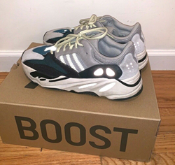 Picture of ADIDAS YEEZY BOOST 700 Wave Runner Size 10.5 100% Authentic
