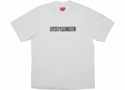 Picture of New Supreme Floral Logo Tee White Large L
