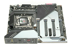 Picture of Broken Asus Rog Rampage VI Extreme X299 LGA2066 Motherboard - 1111006