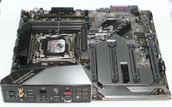 Picture of ASUS ROG RAMPAGE VI EXTREME LGA2066 DDR4 X299 MB Motherboard with Accessories