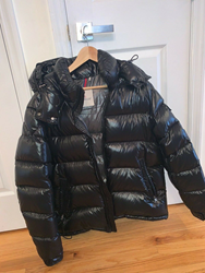 Picture of Pre-Owned Authentic Moncler Men's Maya Jacket Black Size 5 XL