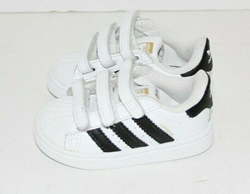 Picture of Adidas Superstar Infant Sneakers Casual Sneakers White Boys - Size 4K