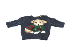 Picture of Used | Boys Polo Ralph Lauren Sweater 3 Months - Blue