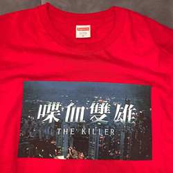 Picture of Supreme The Killer John Woo Long Sleeve Red Size Medium Authentic