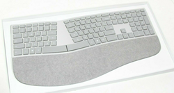 Picture of Microsoft 3RA-00022 Surface Ergonomic Bluetooth Wireless Keyboard for Mac/W10