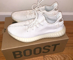 Picture of Adidas Yeezy Boost 350 V2 - Triple White / Cream 10.5 Sneakers