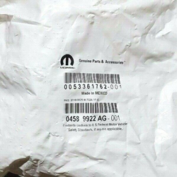 Picture of BRAND NEW IN SEALED PACKAGING Mopar Door Latch Actuator 04589922AG