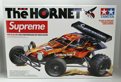 "Picture of Supreme x Tamiya ""The Hornet"" RC Remote Control Car with Remote FW18 - Brand New"