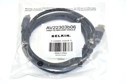 Picture of NEW Belkin AV22303b06 HDMI to MINI-HDMI 6 Feet Cable FREE SHIPPING