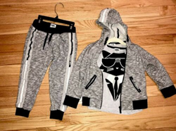 Picture of Karl Lagerfeld Kids Hoodie, Pants And T Shirt Size 4T
