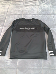 Picture of KARL LAGERFELD Logo Quilted Back Sweatshirt 2019