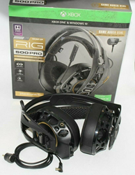 Picture of Plantronics RIG 500 PRO HX Wired Gaming Headset for Xbox One Black NO MICROPHONE