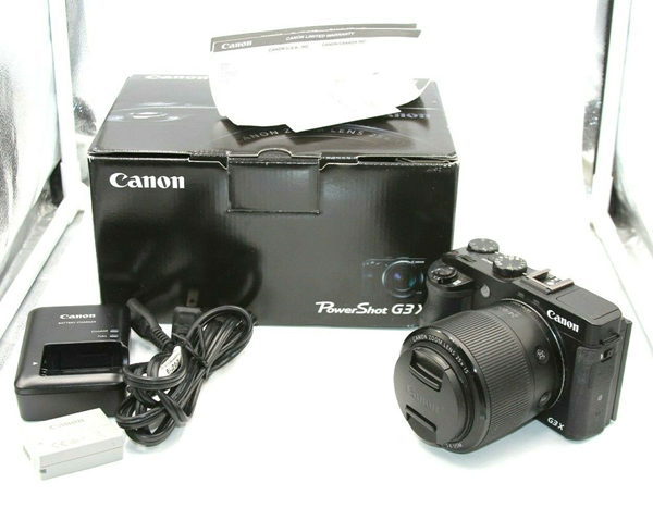 Picture of Canon PowerShot Power Shot G3 X G3X 20.2MP Digital Camera 24-600 LENS !