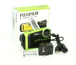 Picture of Used | Fujifilm FinePix XP125 16.4MP Digital Camera (Lime) #7675