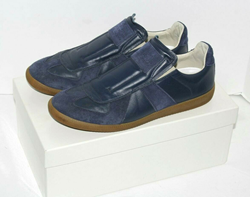 Picture of Maison Margiela Blue Low Top Sneakers Size 10 US 43 EUR