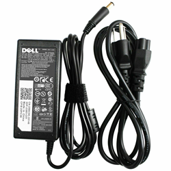 Picture of Genuine 65 Watt 19.5v 3.34a AC Adapter Charger FOR DELL 09RN2C 6TM1C HA65NS5-00