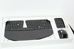 Picture of Microsoft Sculpt Ergonomic Wireless Desktop Keyboard and Mouse AS IS FOR PARTS