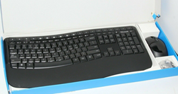 Picture of Microsoft Wireless keyboard Comfort 5050 AS IS FOR PARTS