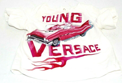 Picture of Pre Owned Girls Young Versace Tee Shirt 0-3 Months
