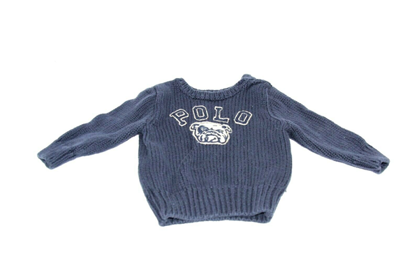 Picture of Used | Boys Polo Ralph Lauren Sweater 12 Months - Blue