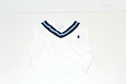 Picture of Used | Boys Polo Ralph Lauren Vest 12 Months - White