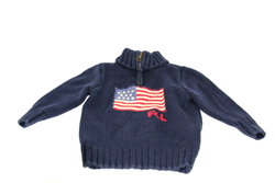 Picture of Used | Boys Polo Ralph Lauren Sweater 2 Years - Blue US Flag