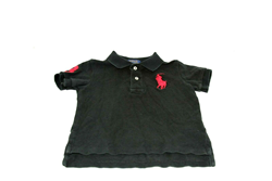 Picture of Used | Boys Polo Ralph Lauren T-Shirt 2 Years - Black