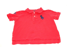 Picture of Used | Boys Polo Ralph Lauren T-Shirt 2 Years - Red