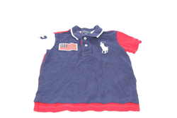 Picture of Used | Boys Polo Ralph Lauren T-Shirt 2 Years - Blue/Red