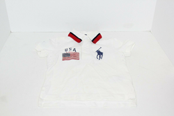 Picture of Used | Boys Polo Ralph Lauren T-Shirt 2 Years - White USA Flag