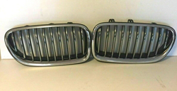 Picture of 2011 - 2014 2015 2016 BMW F10 5 Series RH & LH Kidney Grille Front OEM 1391