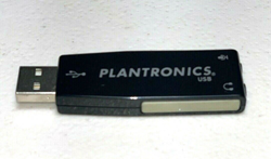 Picture of Plantronics DSP Adapter 02 for analog PC Headset dual 3.5mm plugs to PC USB Port