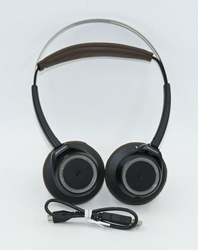 Picture of Plantronics BackBeat Sense Smart Wireless Bluetooth Headphones - Black / Brown