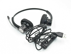 Picture of Used - Plantronics C620 Black Headband Headsets USB-A