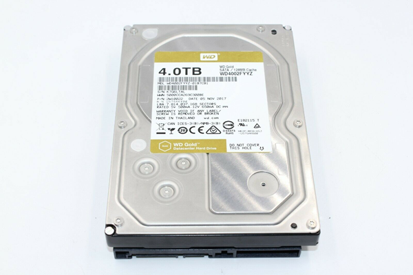 Picture of Broken WD Gold WD4002FYYZ 4TB Enterprise HDD 7200RPM SATA III Hard Drive