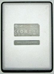 Picture of BROKEN | G-Technology G-Drive 1 TB, Portable External, 2.5""