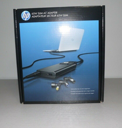 Picture of GENUINE HP BUSINESS NOTEBOOK ULTRABOOK 65W SLIM AC POWER ADAPTER 677777-001