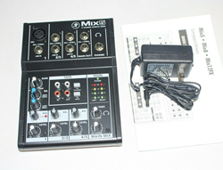 Picture of Mackie Mix5 5-Channel 2-band EQ Portable Live Studio Compact Mixer Mix 5 Five