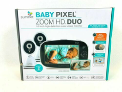 Picture of OPEN BOX | Summer Infant Baby Pixel ZOOM HD, VIDEO BABY MONITOR. TWO CAMERAS