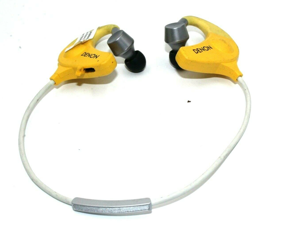 Picture of Broken l Denon AH-W150EM In-Ear Headphones Yellow