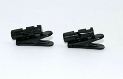 Picture of Lot of 2 PLANTRONICS Clothing CLIP CLAMP for StarSet H31N & Supra H51N Headsets