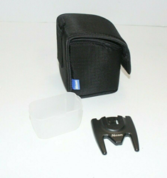 Picture of Slightly Used | Nissin I60A Flash Accessories (Pouch, Bulb Cover, Mount Stand)