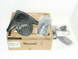 Picture of Pristine | POLYCOM VTX1000 CONFERENCE PHONE w/ POWER MODULE