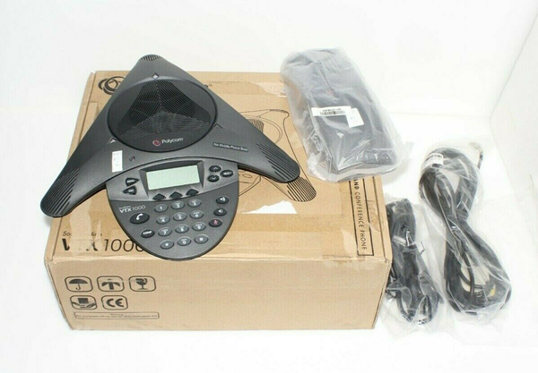 Picture of Used | Please Read | POLYCOM VTX1000 CONFERENCE PHONE w/ POWER MODULE