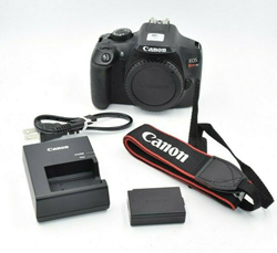 Picture of Used | Canon EOS Rebel T6 1300D 18MP Digital Camera - Black (Body Only) #7715