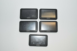 Picture of Lot of 5 Untested Garmin Nuvi 40LM 4.3-inch Portable GPS Navigator Lifetime Maps