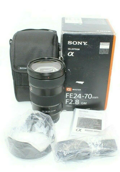 Picture of Used | Sony SEL2470GM 24-70 mm F/2.8 Standard Zoom Lens #7132