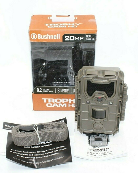 Picture of Used | Bushnell 119876C 20MP Aggressor No Glow Trophy Trail Camera