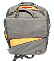 Picture of Lumix G 10th Anniversary Camera Backpack - Gray and Orange