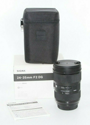 Picture of Used! Sigma 24-35mm f/2 DG HSM Art Lens for Canon